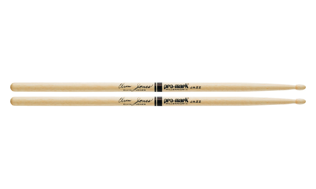 Promark TXJZW Hickory JZ Jazz Elvin Jones Wood Tip drumstick