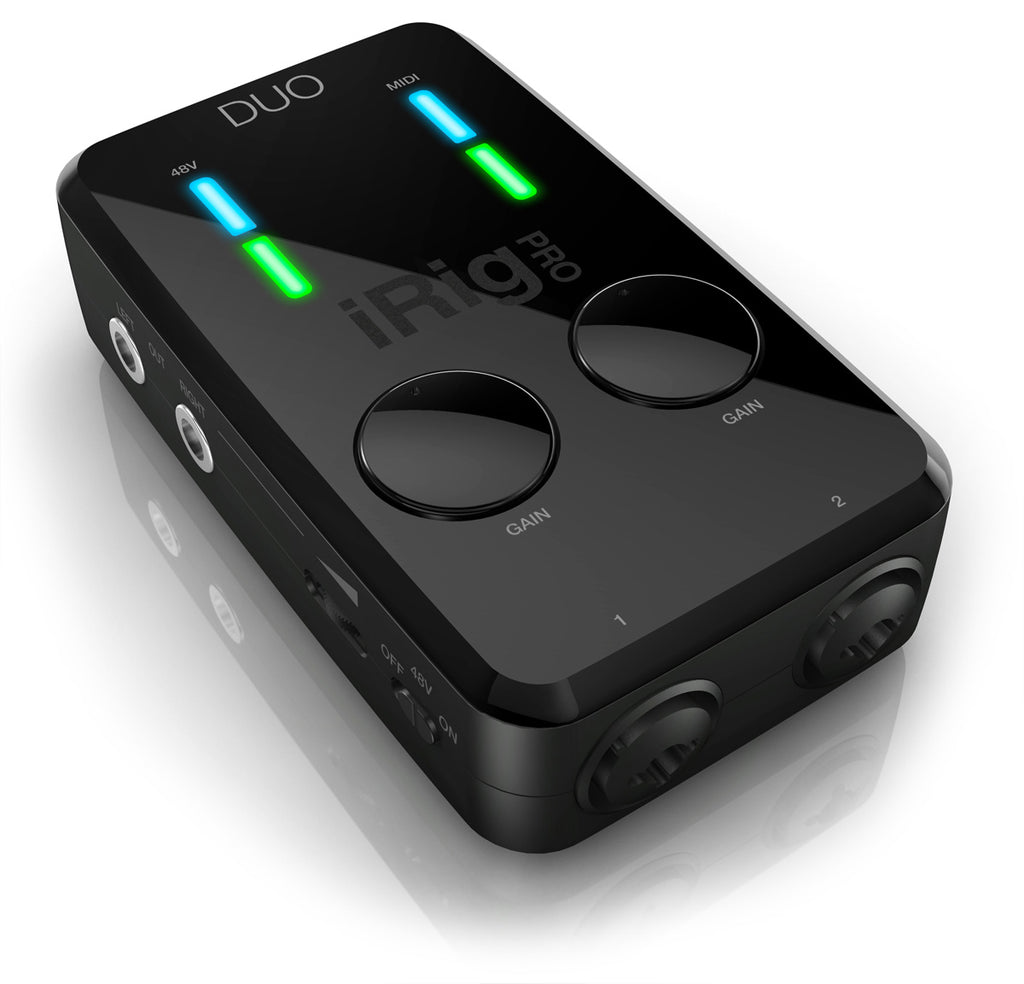 IK Multimedia iRig Pro Duo Portable Audio Interface