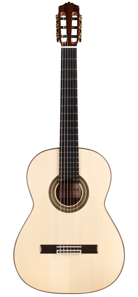 Cordoba Solista Flamenca All Solid Spruce/Cypress Nylon String Acoustic Guitar