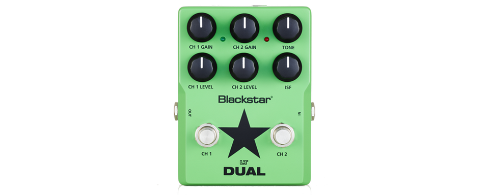Blackstar LTDS2 2 Channel Distortion Pedal 9 Volt