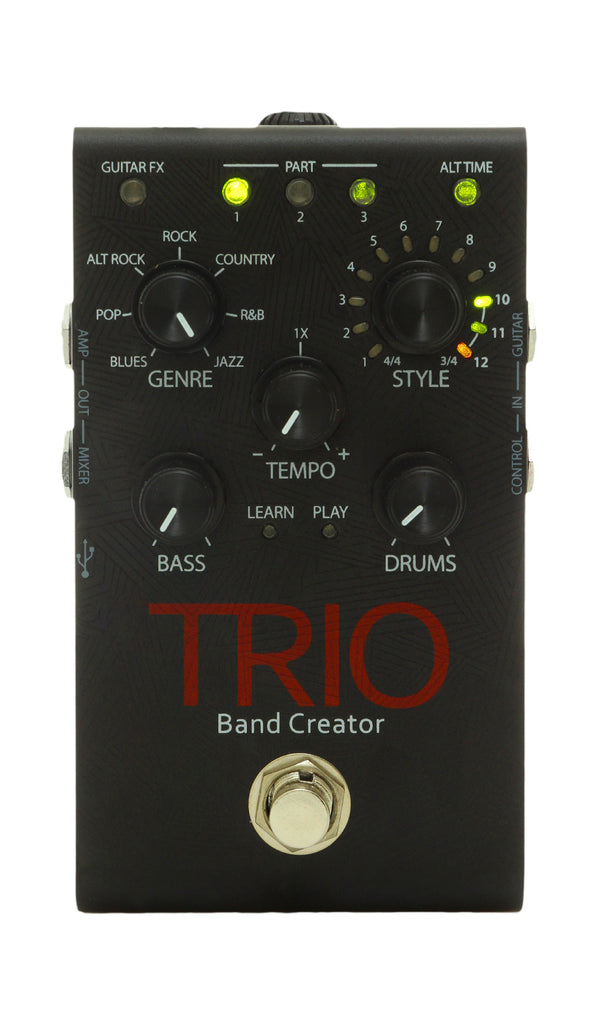 digitech trio band creator guitar effects pedal chuck levin 39 s. Black Bedroom Furniture Sets. Home Design Ideas