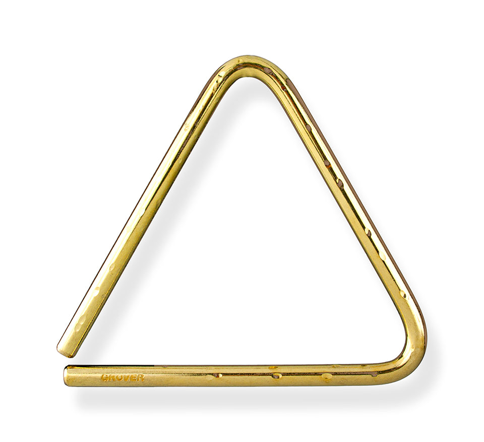 Grover TR-BHL-8 8-Inch Bronze Hammered Lite Triangle