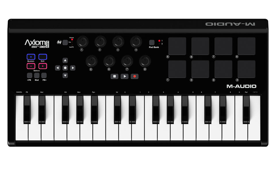 M-Audio Axiom Air Mini 32 Portable Keyboard Controller