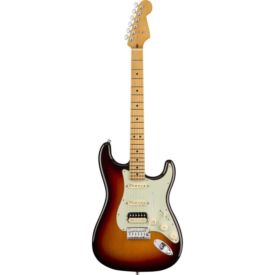 Fender American Ultra Stratocaster HSS Electric Guitar, Maple Fingerboard