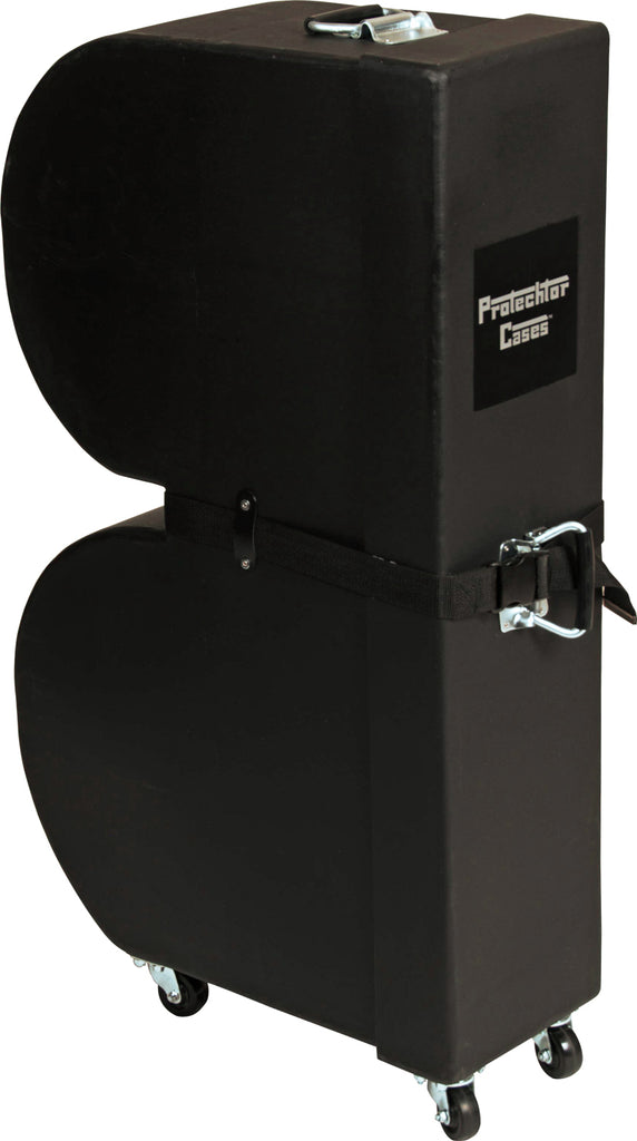 Gator Cases GP-PC310 Upright Molded PE Timbale Case With Wheels