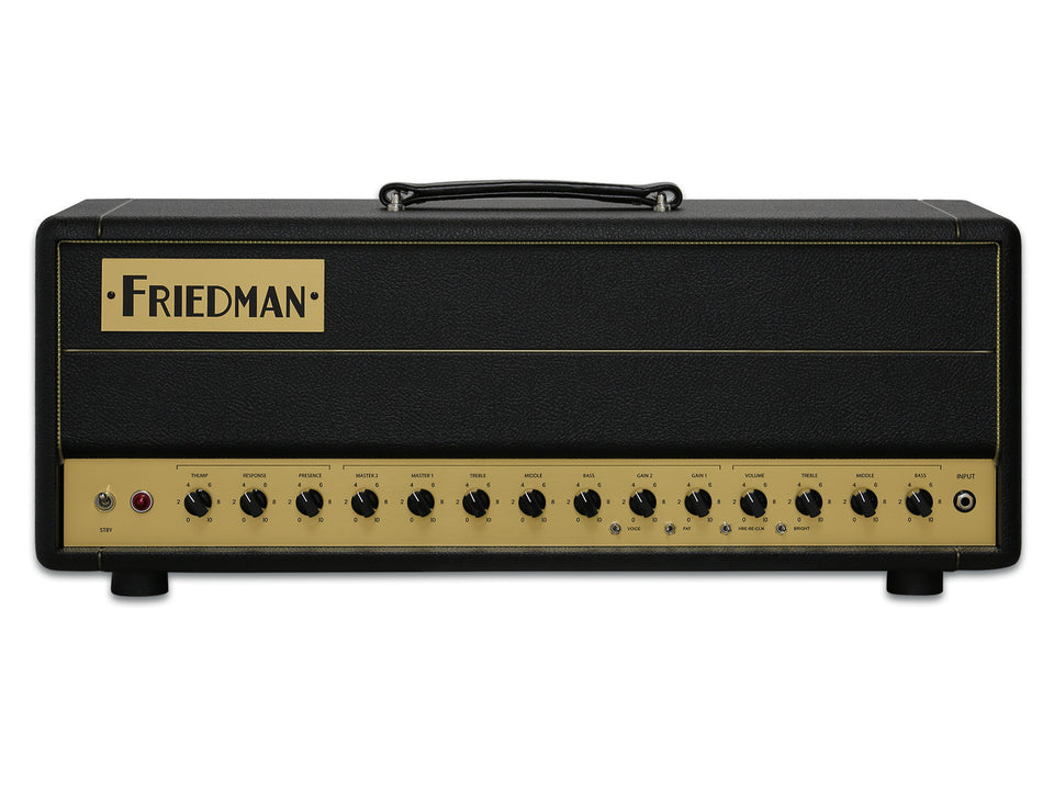Friedman BE-50 Deluxe 50W Guitar Amplifier Head