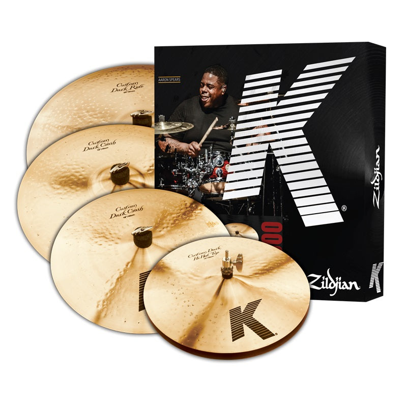 Zildjian K Custom Dark Cymbal Set - 5 Piece