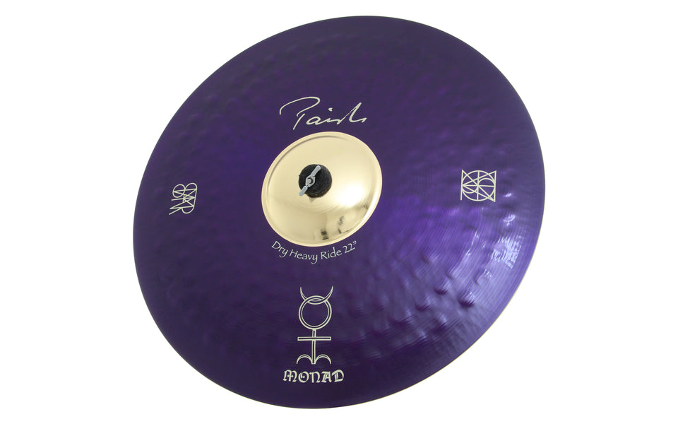 Paiste Danny Carey Signature Dry Heavy Ride Cymbal