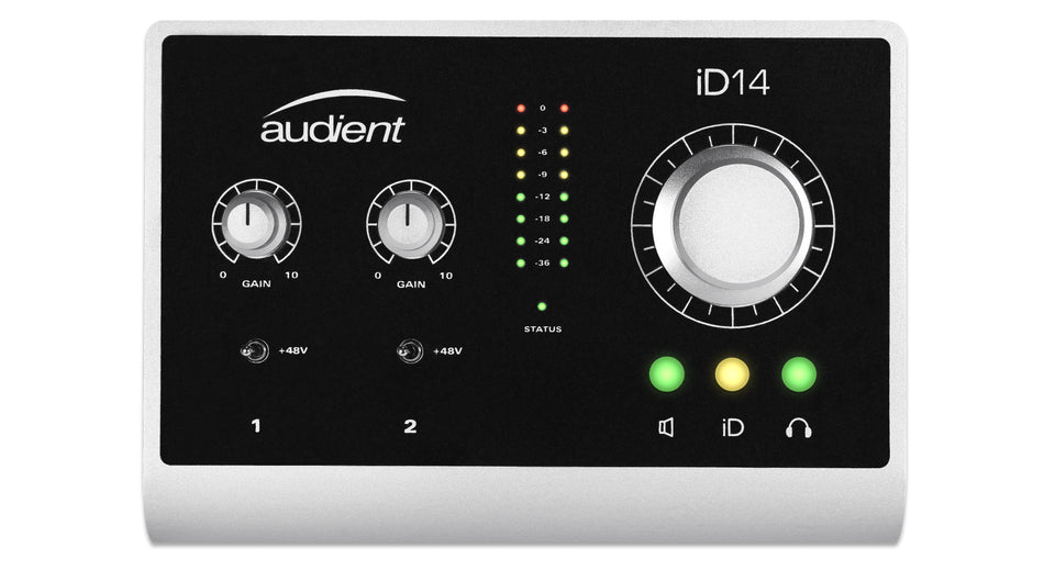 Audient ID14 High-Performance USB Audio Interface