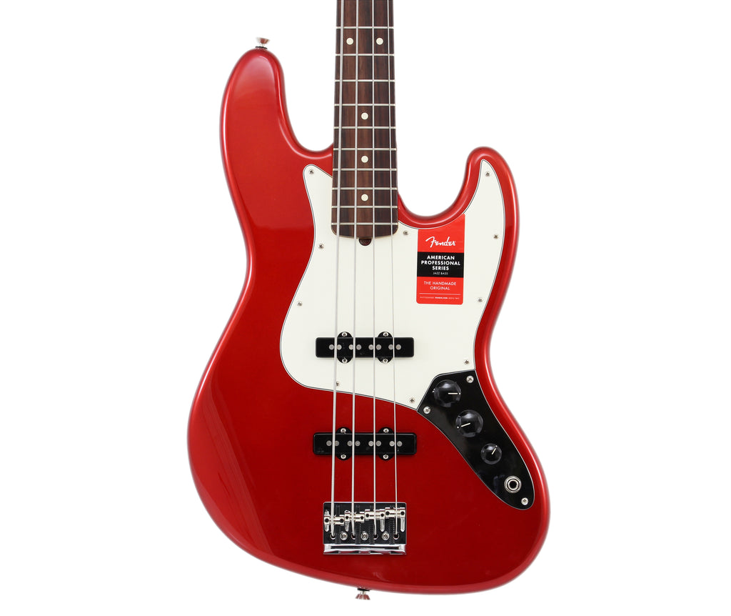 Fender American Professional Jazz Bass - Rosewood Fingerboard, Candy Apple Red