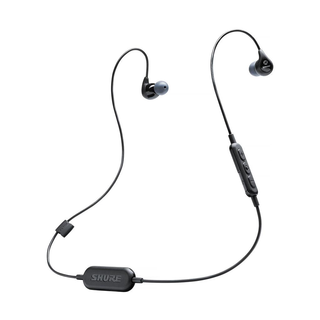 Shure SE112-K-BT1 Sound Isolating Earphones W/ Bluetooth - Black