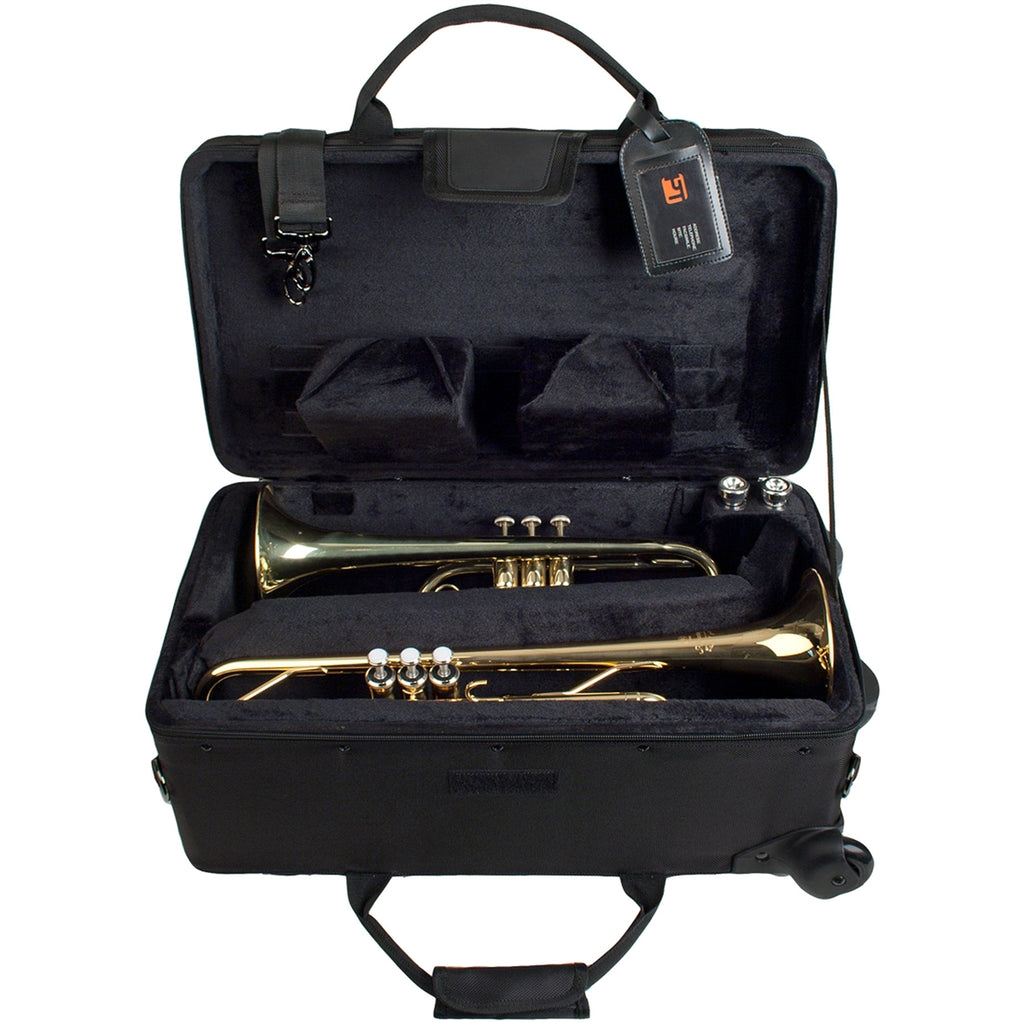 ProTec PB301VAX Trumpet/Auxiliary Combo Case W/ Wheels