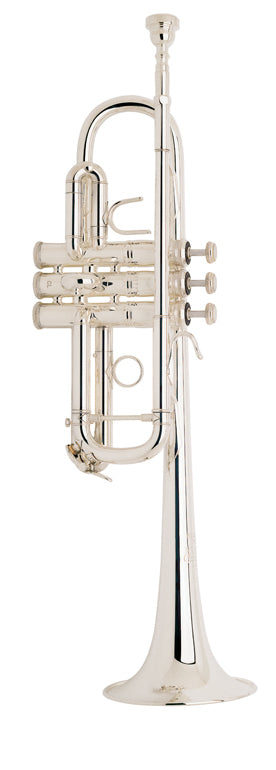 Bach C180SL229W30 Stradivarius C Trumpet Outfit - Silver Plated