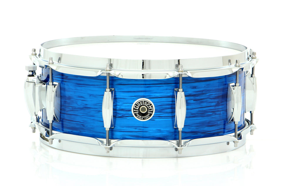 "Gretsch 14"" x 5.5"" Brooklyn Snare Drum Blue Oyster Nitron"