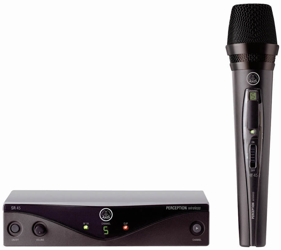 AKG Perception Wireless Vocal Handheld Microphone System