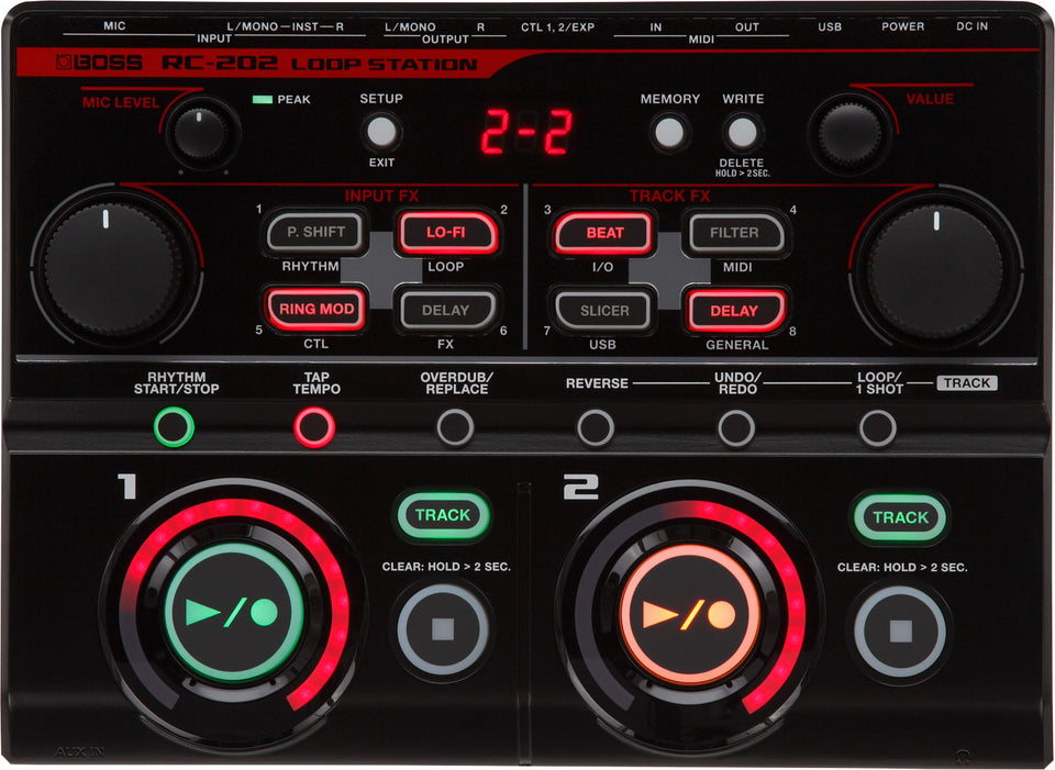 Boss RC-202 Two Track Desktop Loop Station