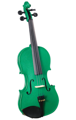 Cremona SV-130GN 42098 Violin Outfit in Green 4/4