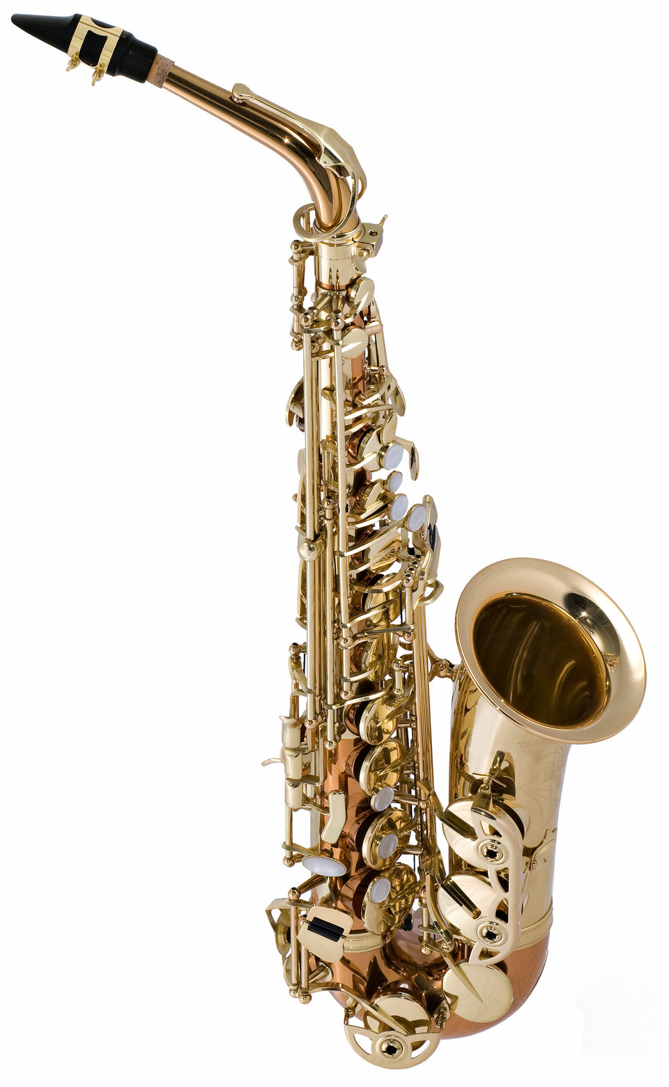 Selmer Model SAS280RC Step-Up Alto Saxophone Outfit - Copper Lacquer