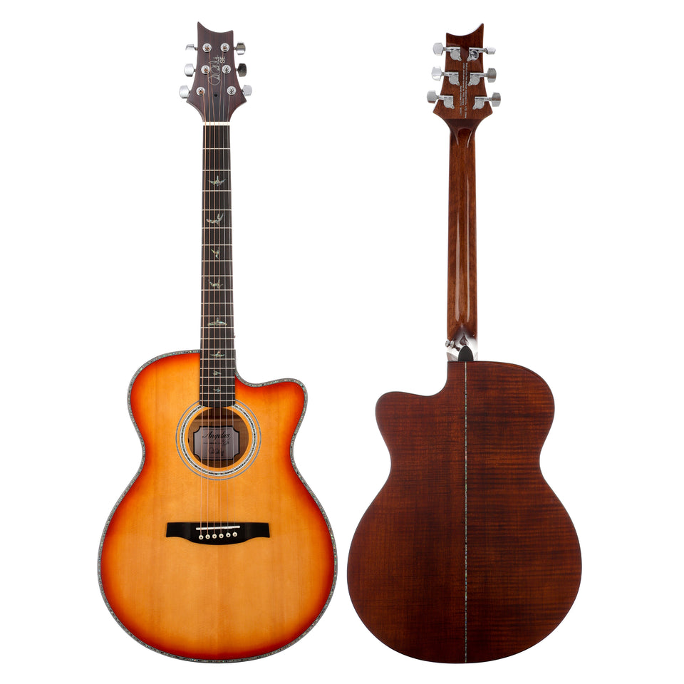 PRS SE Angelus A50E Cutaway Acoustic Electric Guitar - Vintage Sunburst