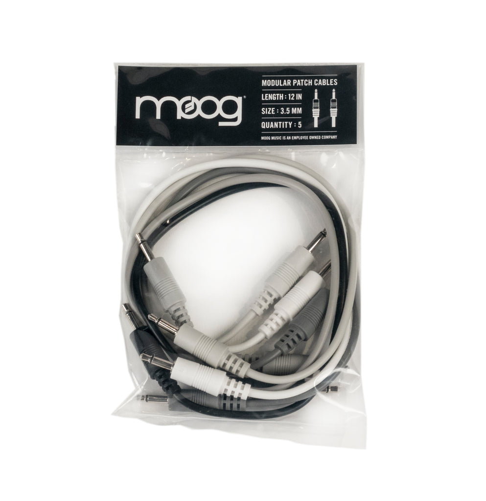 Moog Mother-32 12 Inch Patch Cables (Pack of 5)