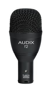 Audix F2 Fusion Series Hypercardioid Dynamic Instrument Microphone