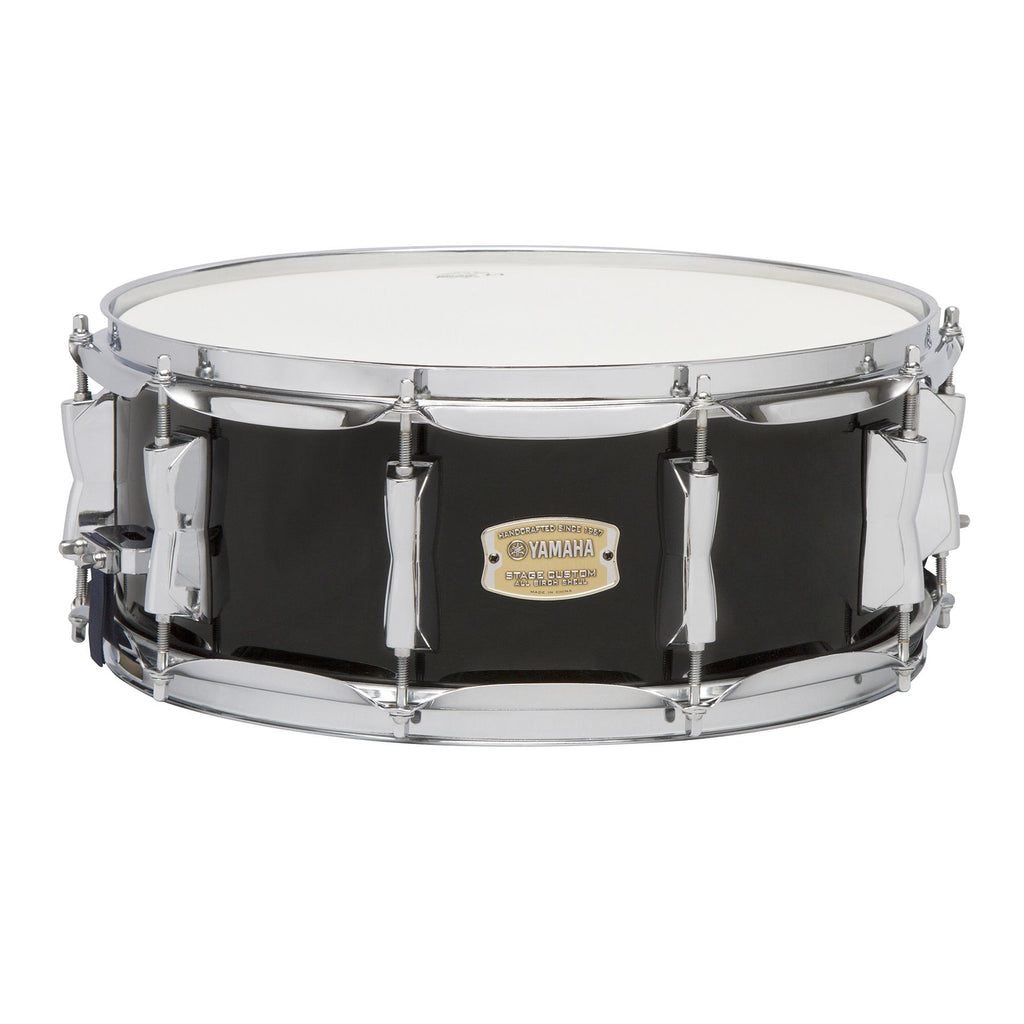 "Yamaha Stage Custom Birch 14"" x 5.5"" Snare Drum - Raven Black"