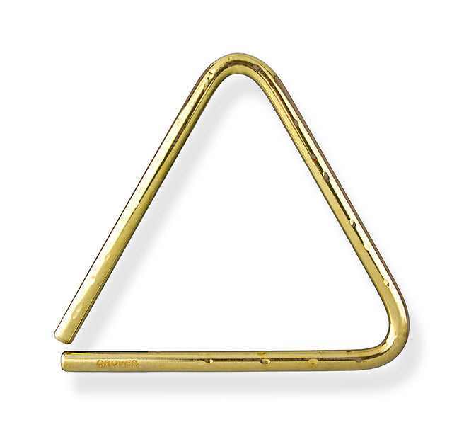 Grover TR-BHL-6 Bronze Hammered Lite Concert Triangle - 6""