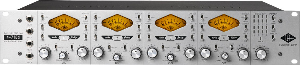 Universal Audio 4-710d Tone Blending Mic Preamp
