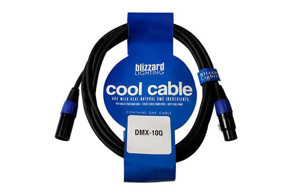 Blizzard Cool Cables 3-Pin DMX Cable - 10ft