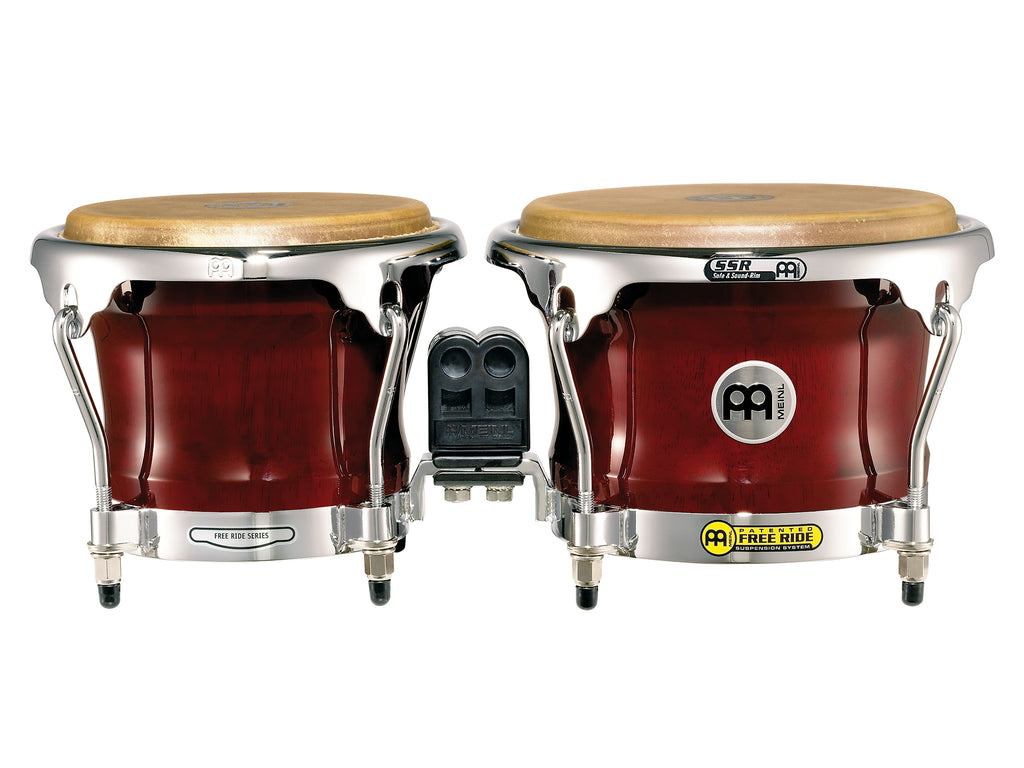 Meinl FWB400CR Professional Series Wood Bongos - Cherry Red