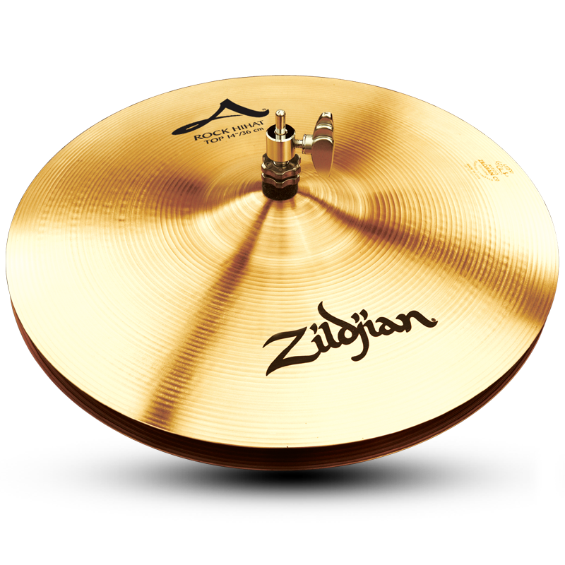 "Zildjian 14"" A Rock Hi-Hat Cymbal Top"