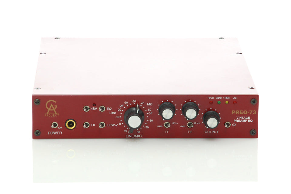 Golden Age PREQ-73, 230V Vintage Style Preamp With 2 Band EQ