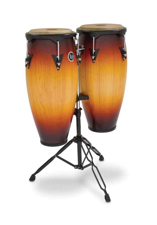 "LP LP646NY-VSB City Wood Congas 10"" And 11"" Set, Vintage Starburst"