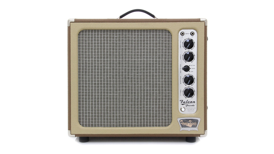 "Tone King Falcon Grande 1 x 12"" Combo Amplifier - Brown/Cream"