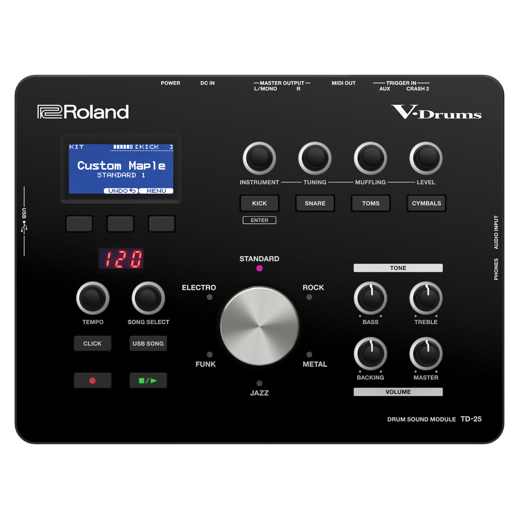 Roland TD-25 Electronic Drum Sound Module With Supernatural Sounds