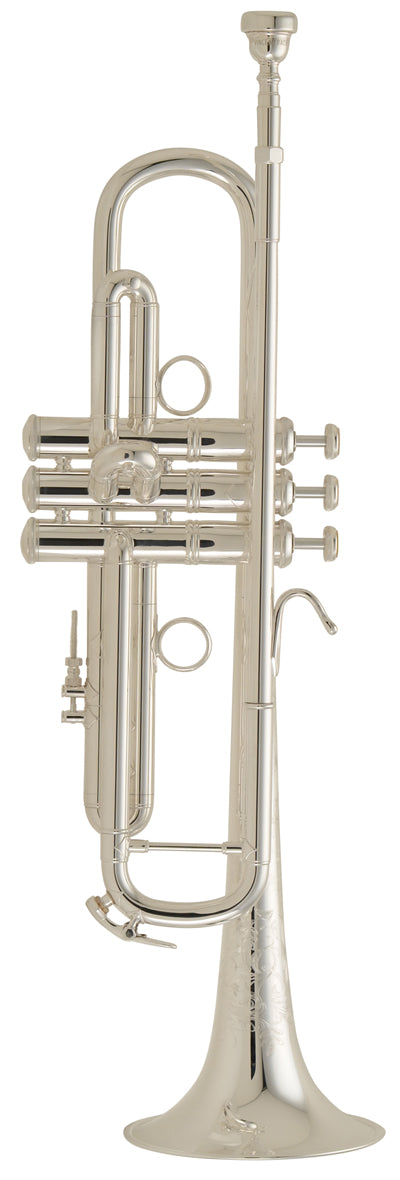 Bach LR190S43B Stradivarius B-Flat Trumpet Outfit - Silver Plated