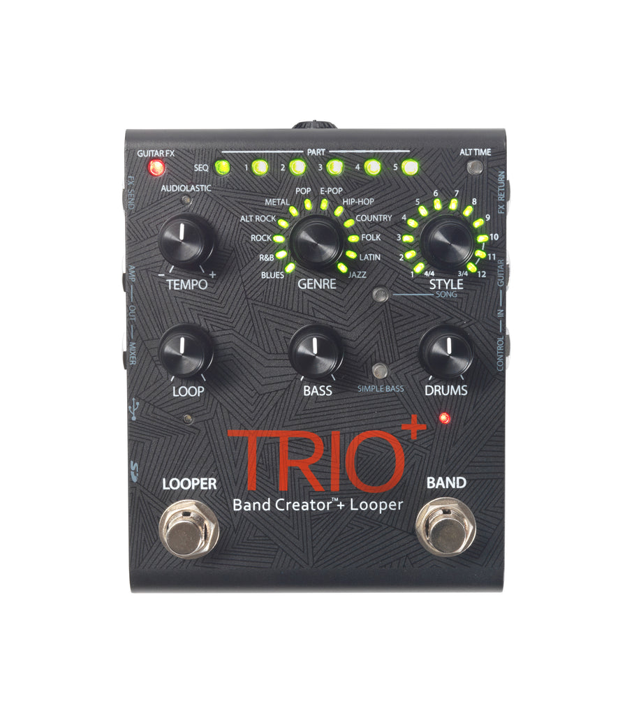 Digitech Trio+ Band Creator + Looper Pedal