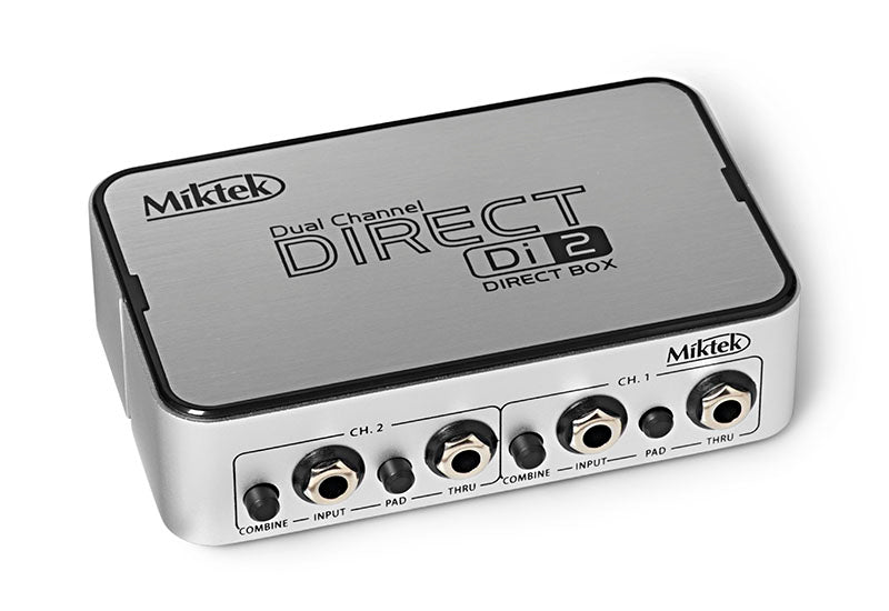 Miktek DI2 Dual Channel Active Direct Box
