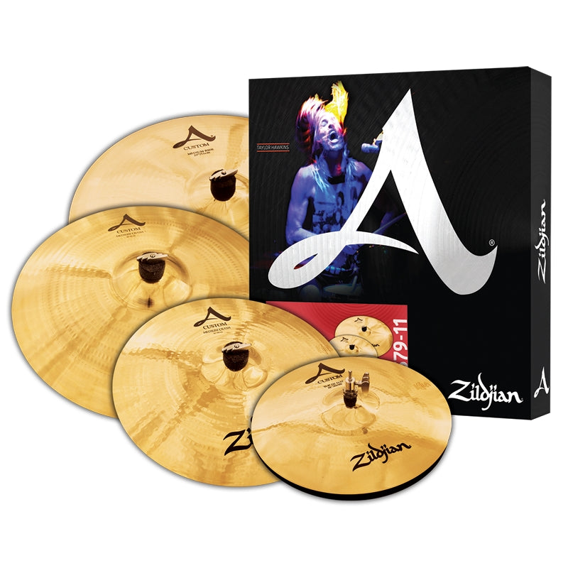 Zildjian A Custom Cymbal Box Set