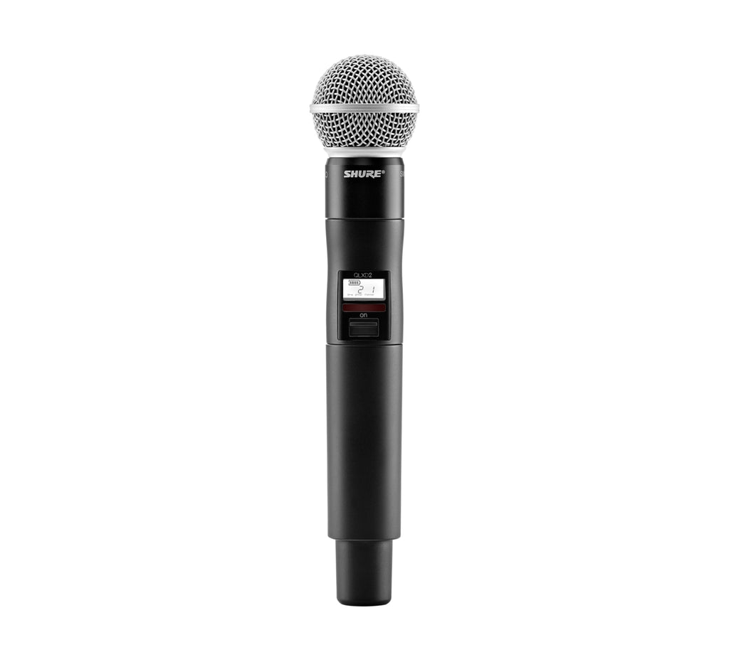 Shure QLXD2 Handheld Wireless Microphone Transmitter w/SM58 Capsule - G50 Frequency Band
