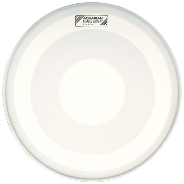 "Aquarian 14"" Texture Coated Studio-X Drum Head With Power Dot"