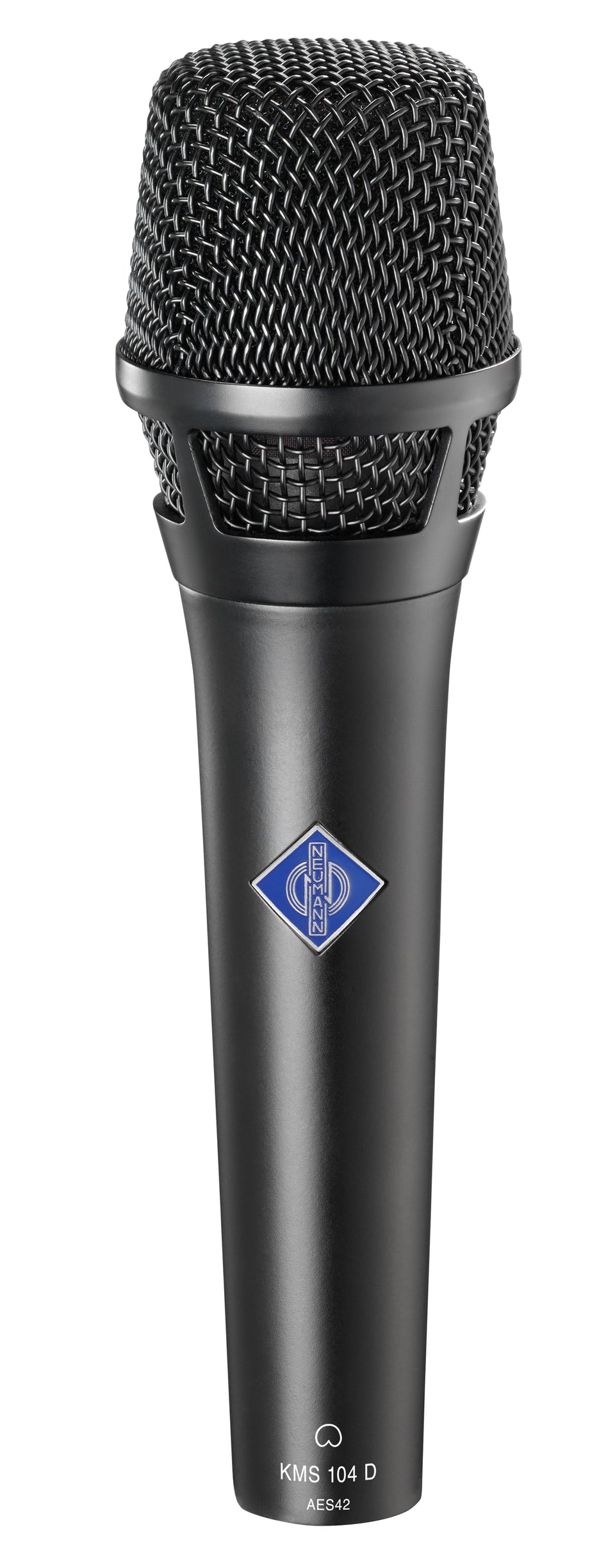 Neumann KMS 104 D Cardioid Microphone W/ KMS Pouch and SG105 - Black