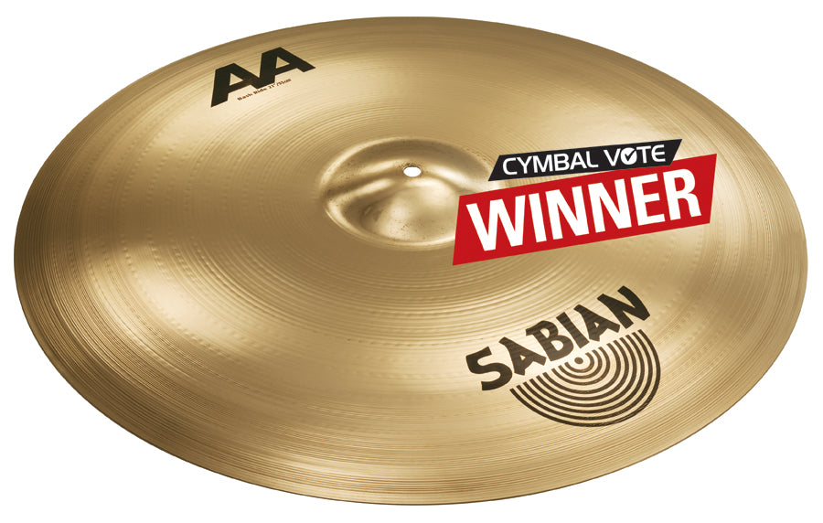 "Sabian 21"" AA Bash Ride Cymbal Brilliant Finish"