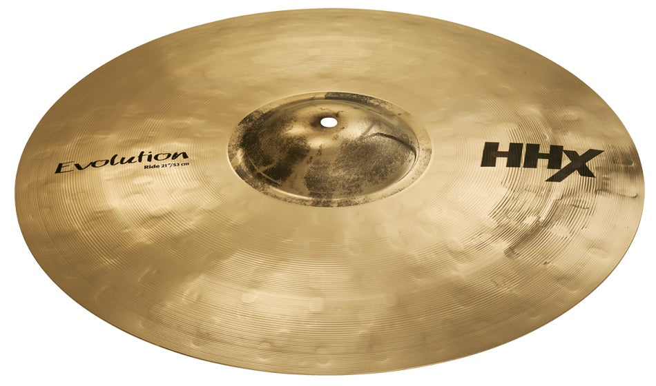 "Sabian 21"" HHX Evolution Ride Cymbal - Brilliant Finish"