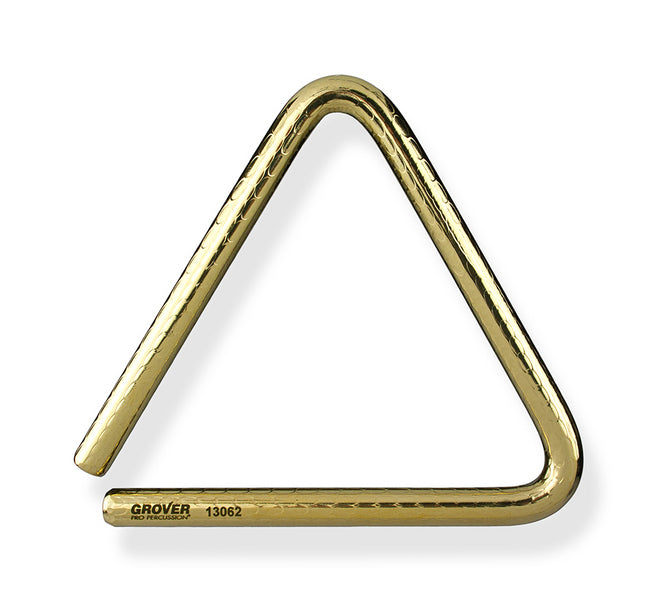 Grover TR-BPH-7 Bronze Pro Hammered Triangle - 7""