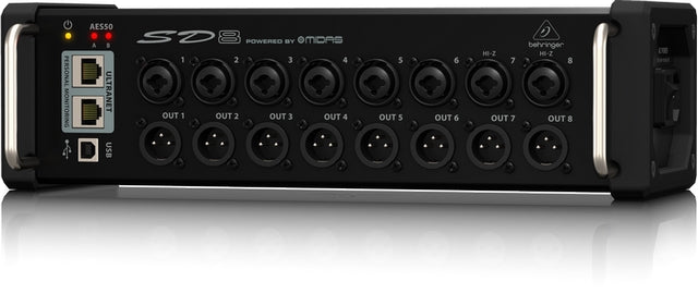 Behringer SD8 I/O Stage Box
