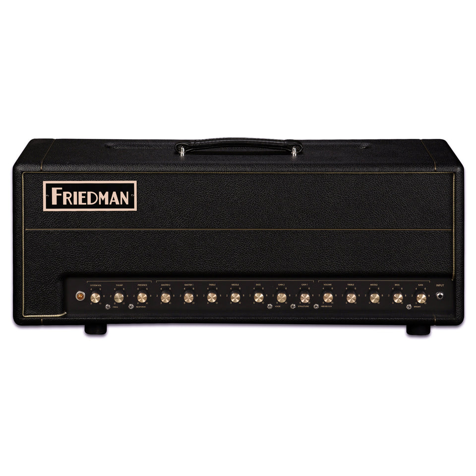Friedman BE-100 Deluxe 3-Channel 100W Guitar Amplifier Head