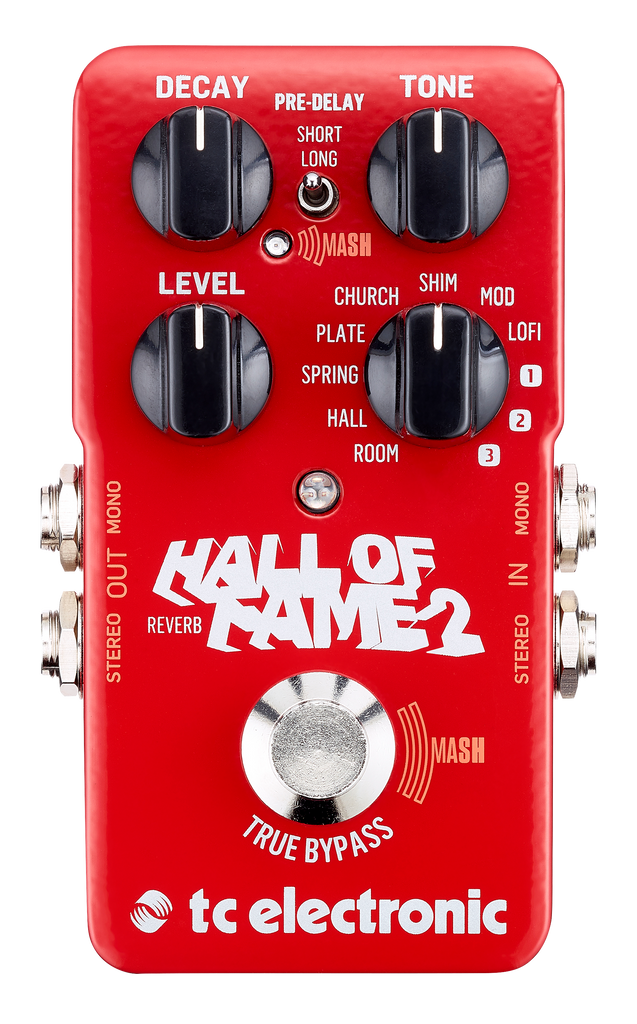 TC Electronics Hall Of Fame 2 Reverb Pedal