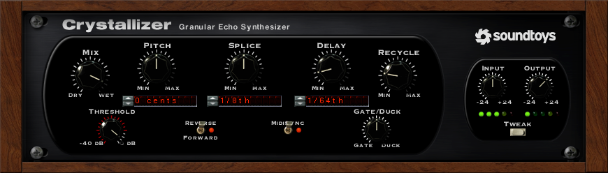 Soundtoys Crystallizer Granular Echo Synthesizer Plug-In