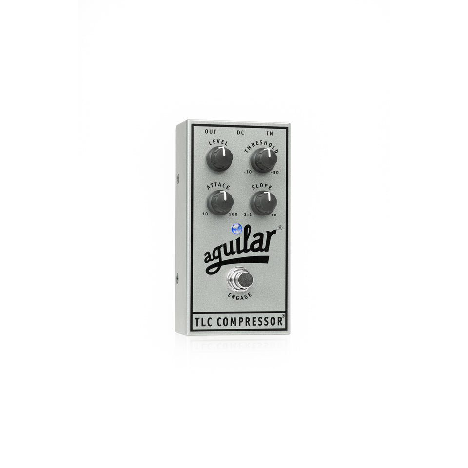 Aguilar 25th Anniversary TLC Compressor Bass Pedal - Limited Edition Silver